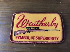 """New ListingVintage """"Weatherby� Hunting Patch"""