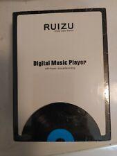 Ruizu Mp3 Player Digital Music Player Voice Recording