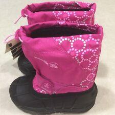 "KAMIK KIDS ""Icemelt"" Toddler Insulated Magenta/Pink Snowboots~~Size 10"