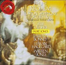Various Artists : Fauré: Requiem - Songs  Bonney, Hagegar CD