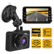 "Us Fast 3"" Car Dash Cam 1080P Car Dashboard Dvr Camera Video Recorder G-Sensor"