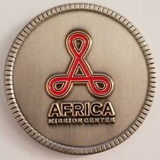 CIA AFRICA MISSION CENTER ACCRA GHANA RARE FRONT VARIANT DESIGN CHALLENGE COIN