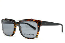 KENNETH COLE 0256 52A New Authentic Eyeglasses Clip-On Sunglasses 55-17-145