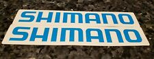 SHIMANO Sticker Decal Bike Bicycle Cycling Fishing Vinyl 2 stickers