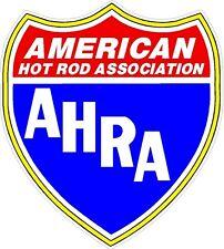 American Hot Rod Association Window Sticker Decal Drag Racing Rat Rod