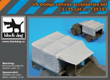 BLACK DOG CANVAS U.S.DODGE AFV CLUB 1:35 T35103