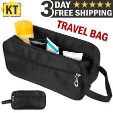 Men & Women Travel Toiletry Bag Small Dopp Kit Cosmetic Makeup Shaving Organizer