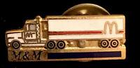 Vintage McDonald's Trucking Semi Truck   Enamel Lapel Pin