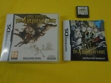 ds FINAL FANTASY The 4 Heroes Of Light Game Lite DSi 3DS REGION FREE PAL UK