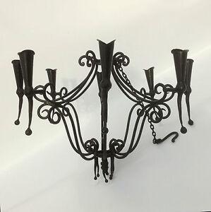 Castle luster wine cellar luster candelier candelabra hotel lamp D 110 cm H 80