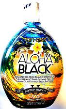 Aloha Black 200X Double Dark Bronzer Indoor / Outdoor Tanning Lotion Brown Sugar