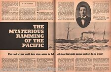 """Mysterious Ramming Of The Steamer """"Pacific""""- Henley,Howell,Jelly,Palmer,Sawyer"""