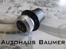 Zigarettenanzünder - Attrappe original Audi Alumatt-Optik 12 Volt universal
