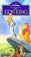 The Lion King (Vhs, 1995)