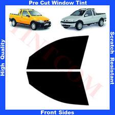 Pellicola Oscurante Vetri Auto Anteriori per Fiat Strada ExtraCab 99-09 da5%a70%