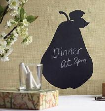 WALLIES PEAR CHALKBOARD wall sticker BIG decal with chalk fruit kitchen decor
