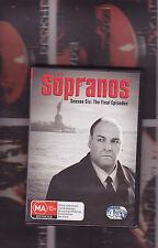 sopranos season 6 part 2 (4 dvd set) region 4