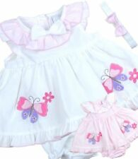 Vestidos blancos de bebé para niñas de 0 a 24 meses