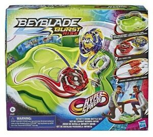 Hasbro Beyblade Burst Rise Hypersphere Infinity Brink Battle Set, Tops, Launcher