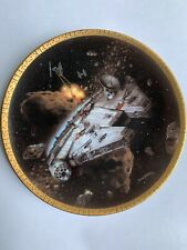 Star Wars Hamilton Collection Space Vehicles Plate - The Millennium Falcon