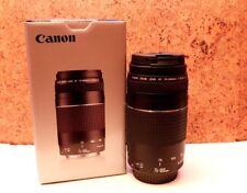 NEUF Objectif Zoom Canon Lens EF 75-300 III F4-5.6