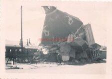 Foto, Blick auf den zerstörten Wasserturm von Poltawa (N)19261