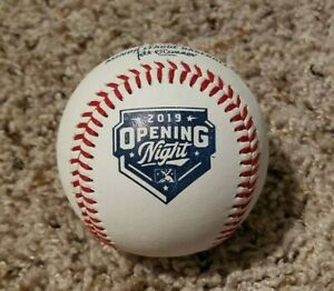 2019 Official Minor League OPENING NIGHT Commemorative Baseball MiLB Game Ball