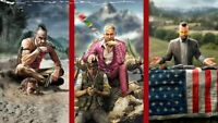 Far Cry All Games (1,2,3,4,5, New Dawn, Primal) STEAM PC - READ DESCRIPTION