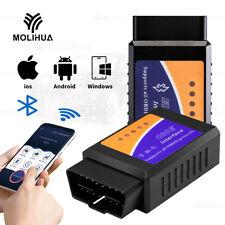 ELM327 ODB2 Auto Diagnosegeräte WiFi Bluetooth Scanner Codeleser OBDII Testgerät