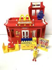 Vintage McDonalds Play Place Drive Thru Restaurant Playset with some Furniture