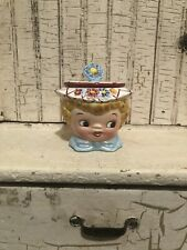 Vintage Miss Dainty Jam Pot Sugar Pot Japan Lefton