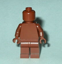 Statue Minifig Lego Solid-Plain Reddish Brown New (Genuine Lego) Monochrome