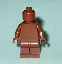 STATUE MINIFIG Lego Solid-Plain REDDISH BROWN NEW (Genuine Lego) Monochrome