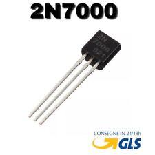 2N7000 5 pezzi 2N7000 2N 7000 Mosfet N-channel 0,2A 200mA 60V TO-92 - 5 pezzi