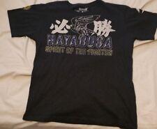Hayabusa Spirit of the Fighter MMA Dark Blue Medium T-Shirt