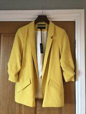 River Island Ladies Yellow Smart Jacket Size 10 BNWT