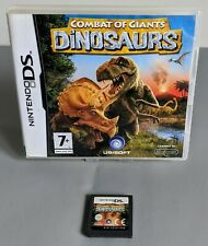 NINTENDO DS DSL DSi GAME COMBAT OF GIANTS DINOSAURS