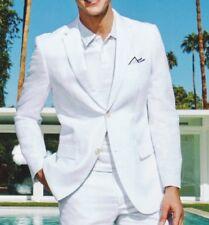 Lauren Ralph Lauren Blazer Size 42S Men Linen Suit Jacket Sport Coats Vanilla