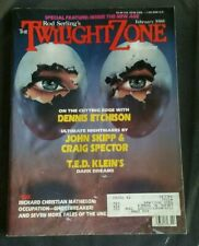 ROD SERLING'S THE TWILIGHT ZONE MAGAZINE FEB 1988
