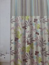 """Traditions by Waverly Wind Fabric Shower Curtain 70"""" x 72"""" NIP"""