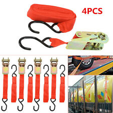 4X 15' Ratchet Car Truck Furniture Box Goods Transportation Fixed Straps Durable