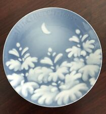 Bing & Grondahl 1896 New Moon Christmas Plate With Box