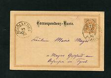 """Österreich P61  """"Innsbruck Stadt nach Schlastika""""  1890     (BA-7)"""
