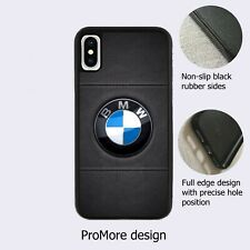 BMW Luxurious Car Logo Symbol Fan Black Case Cover iPhone Samsung Huawei Google*