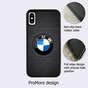 BMW Luxurious Car Logo Symbol Fan Black Case Cover iPhone Samsung Huawei Google*