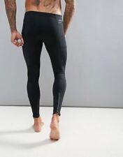 Men's Nike Power Tech Tight Running Training Leggings Joggers Size Small S Black