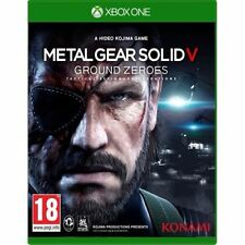 Metal Gear Solid 5 V Ground Zeroes Xbox One Konami