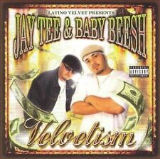JAY TEE & BABY BEESH - Velvetism - CD Bar Area Rap! Latino Velvet (Rare O.O.P.)