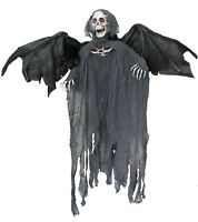 90CM HANGING REAPER LIGHT UP MOVING WITH SOUND HALLOWEEN DECORATION PARTY PROP