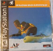 New listing Snowboarding (PlayStation) PS1 PSX PSOne